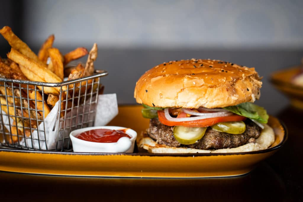 The Brass Onion Burger