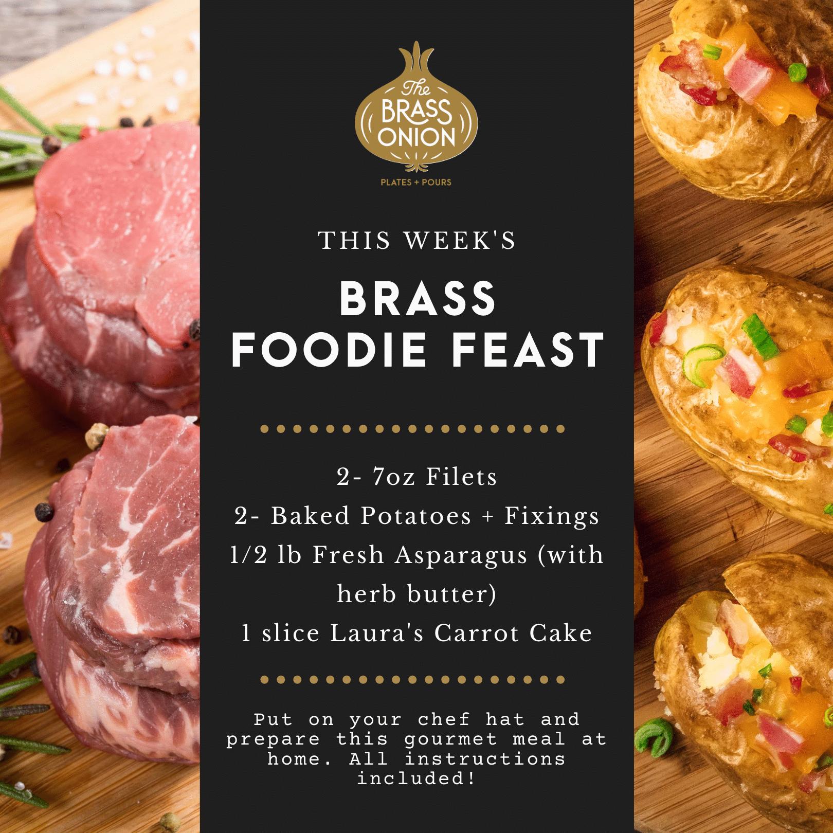 Brass Foodie Feast